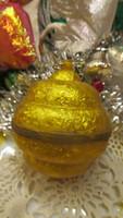 Karácsonyfadisz retró gömb