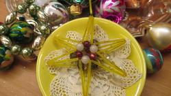 Karácsonyfadisz, csillag-gablonz