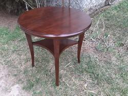 Szép antik art deco kör asztal - A közelbe szállítom is