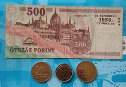 "Forint 20-50-100-500 ""lot"""