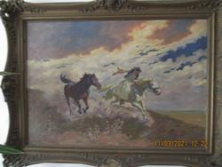 Benyovszky István festménye