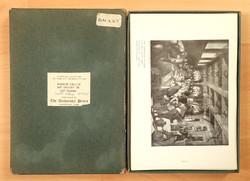 Régi retró vintage papírrégiség papír régiség Cambridge Egyetem 105 db reprodukciós lap csomag