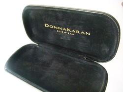Donna Karan New York  fekete bőr DKNY szemüvegtok