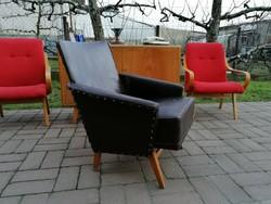 1964 Páris fotel,Hajlitott fotel kárpitozva,magyar, mid century,retró,régi