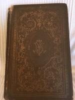 Jókai Mór/A Három Márványfej.73. Kötet.Aranyozott lapélekkel,Félbőr Gottermayer kötés,1897. 356 olda