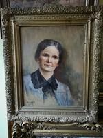 Női portré 1903-ból László F E
