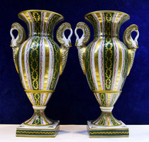 Francia porcelán vázák párba!