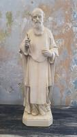 Id. Máriahegyi János papot ábrázoló szobra