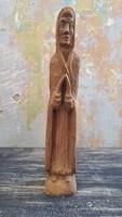 Faragott Szűz Mária szobor