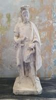 Id. Máriahegyi János Szent Flóriánt ábrázoló szobra