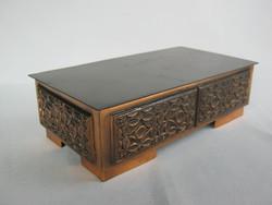 Szabó Gyula iparművész bronz doboz