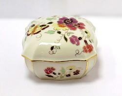 Zsolnay pillangós bonbonier (ZAL-BI41332)