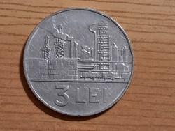 Románia 3 lei 1966