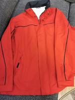 Jaxxon piros átmeneti férfi kabát
