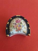 Gyűrűtartó kobalt-arannyal - nemet-martinrodai-porcelan