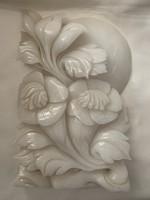 Fehér jádekő virágcsokor
