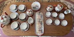 Antik Japán  porcelán szett 1900-as évek eleje