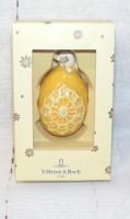 Villeroy & Boch porcelán tojás dísz