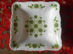 Zsolnay porcelán köretes, salátás tál