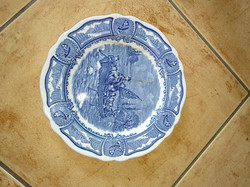 Antik angol tányér antique english Royal Staffordshire porcelain plate