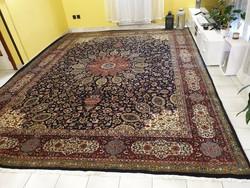 Főúri méretű antik tabriz 306x400 cm kézi csomózású gyapjú perzsa szőnyeg MM_711