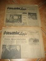 Dolgozók lapja /1982.-esek .... 5   példány//