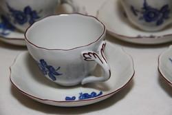 5 személyes Aquincumi porcelán kávéskészlet