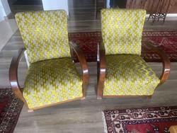Felújított Art deco fotel (2 db.) + asztal (1 db.) eladó.