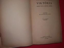 Antik Adrianne Thomas- Kosáryné Réz Lola : Viktória könyv Singer és Wolfner a képek szerint