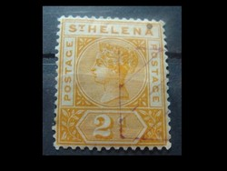 1890 ST. HELENA  2 P
