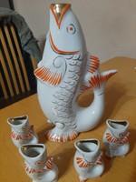Orosz porcelán,italos készlet