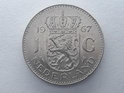 Hollandia 1 Gulden 1967 - Holland 1 gulden 1967 külföldi nikkel pénz, érme