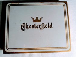 Chesterfield cigarettás pléh doboz