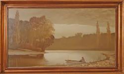 Puskás Imre festménye