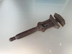 Régi antik szerszám vintage art deco francia kulcs franciakulcs