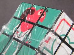 Eredeti promóciós 3x3 Rubik kocka bontatlan csomagban