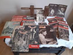 Vegyes újságtétel az 50-es évek elejéről.