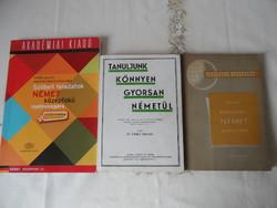 Német nyelvkönyv csomag ( 3 db.)