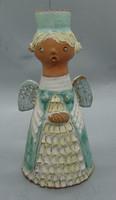 B299 Kiss Roóz Ilona zsűrizett kerámia szobra  - gyűjtői darab