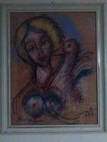 Józsa János Léda hattyuval
