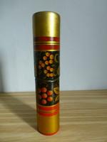 Gyönyörű,gyümölcs mintás orosz lakk fa szalvétatartó II.