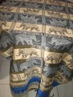 Csodaszép elefántos kasmír terítő futó