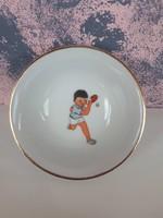 Porcelán tálka 7 cm