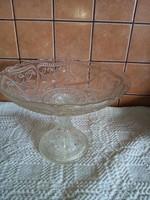 Régi üveg kínáló