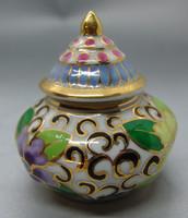 B321 Meseszép porcelán bonbonier - hibátlan gyűjtői ritkaság