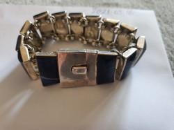 Eredeti lápisz lazuli ezüst karkötő eladó