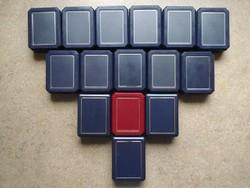 15 db érmetartó doboz vegyes fészek mérettel (id45462)