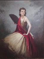 Komáromi-Katcz eredeti festménye