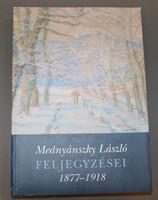 Mednyánszky László feljegyzései 1877-1918