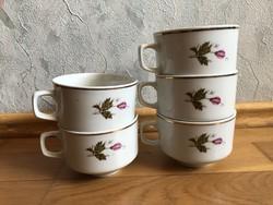 Virágmintás KITKA porcelán csésze - Bulgária  - ár / db